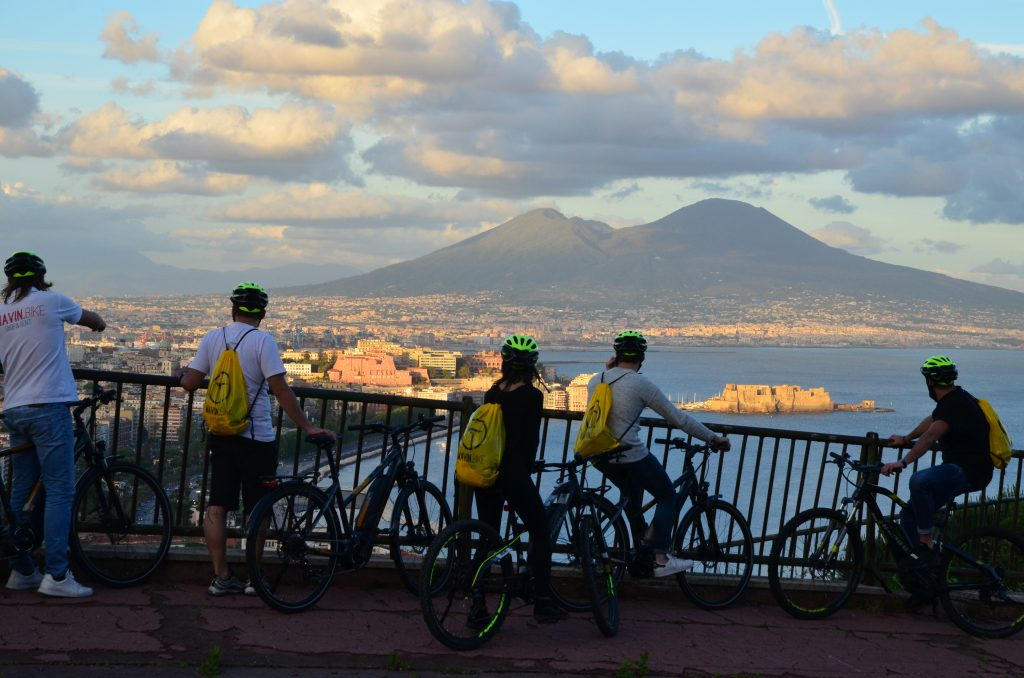 e-bike tour Napoli